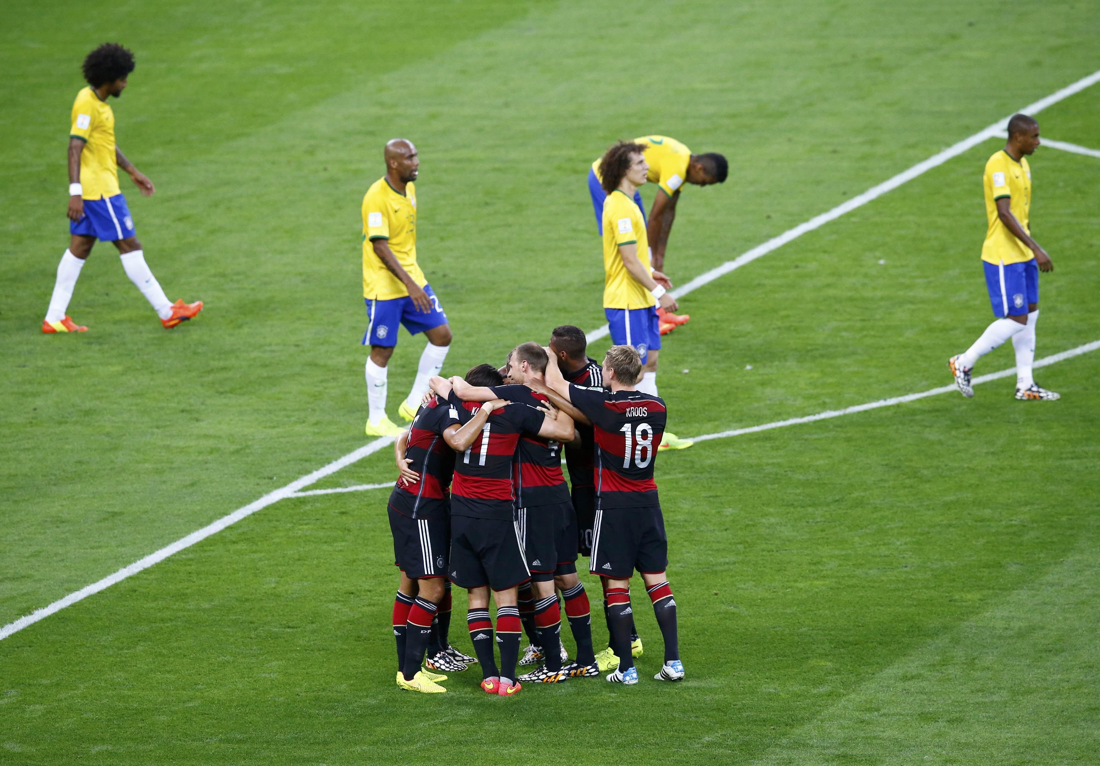 Resultado de imagem para alemanha 7 brasil 1