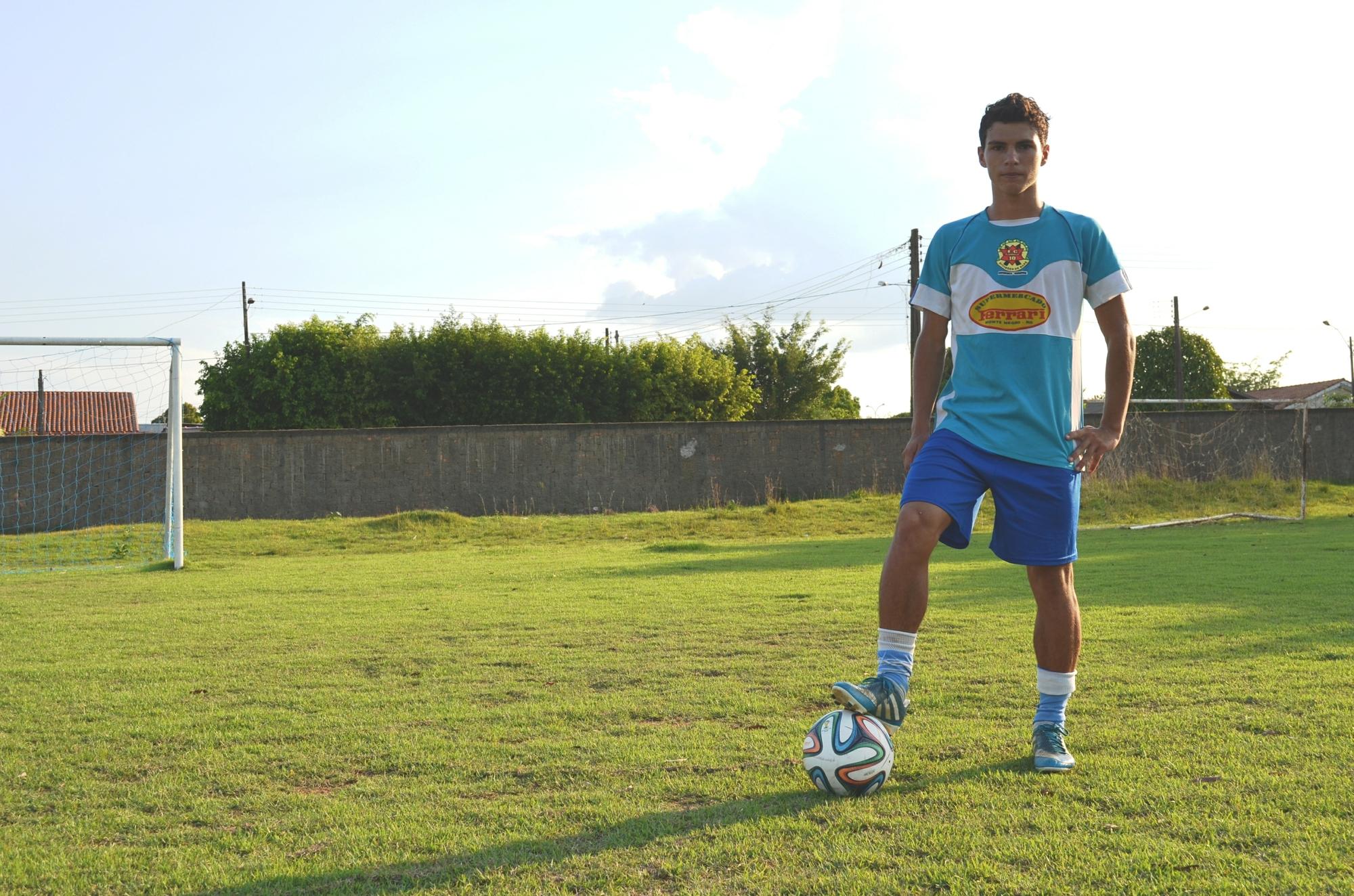 Clube que revelou Cristiano Ronaldo faz testes com jogador rondoniense  0e31349538ae3