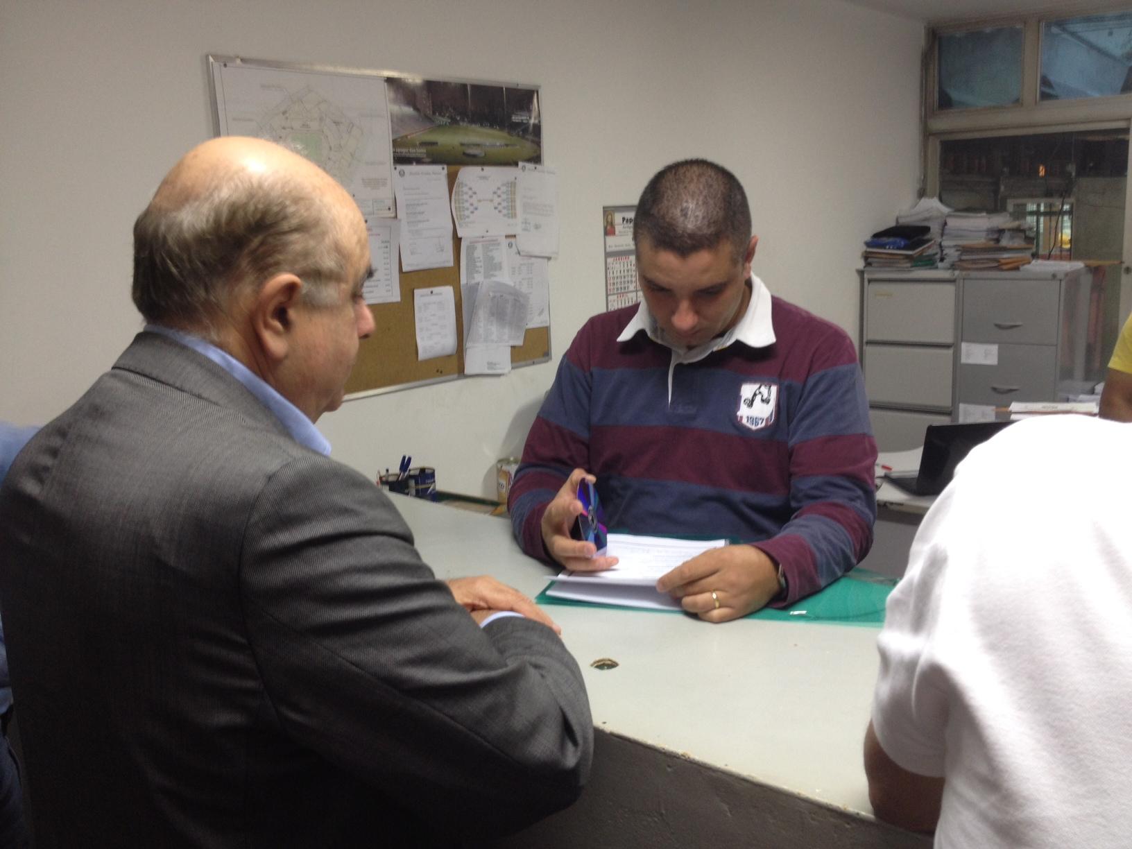 Após ouvir candidatos, grupo de Granieri decide apoiar Paulo Nobre