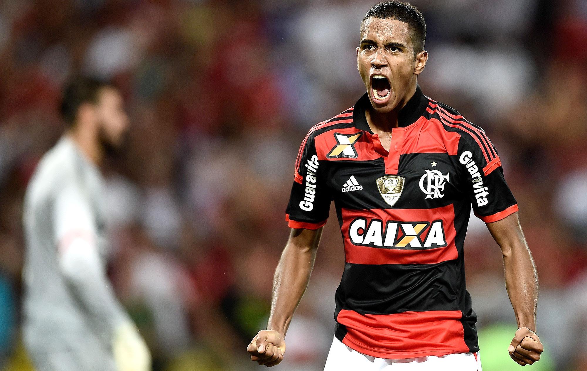 02de52d6ee NÚMEROS  Gabriel é o destaque do Flamengo em jogo contra o Santos