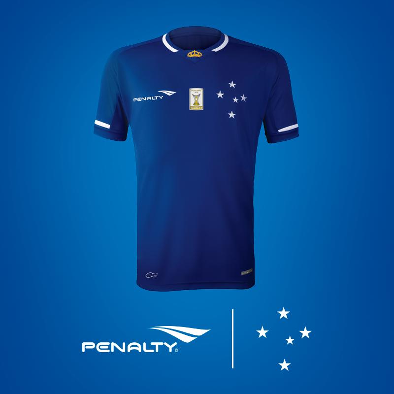 94814ac5f23db Cruzeiro acerta patrocínio para manga da camisa