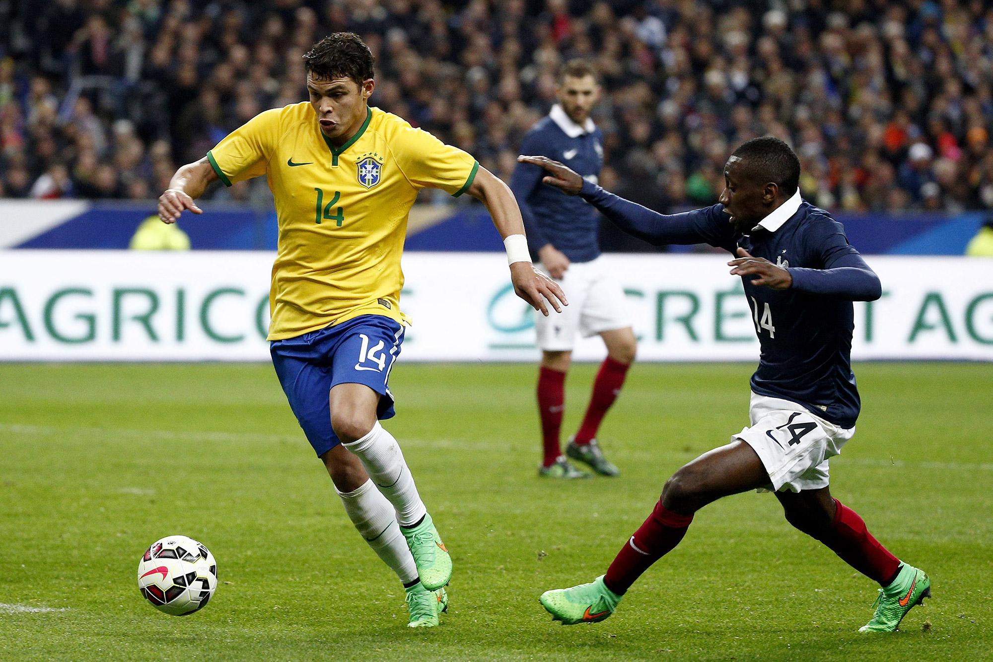 """Matuidi defende volta de Thiago Silva  sele§£o brasileira """"é um"""