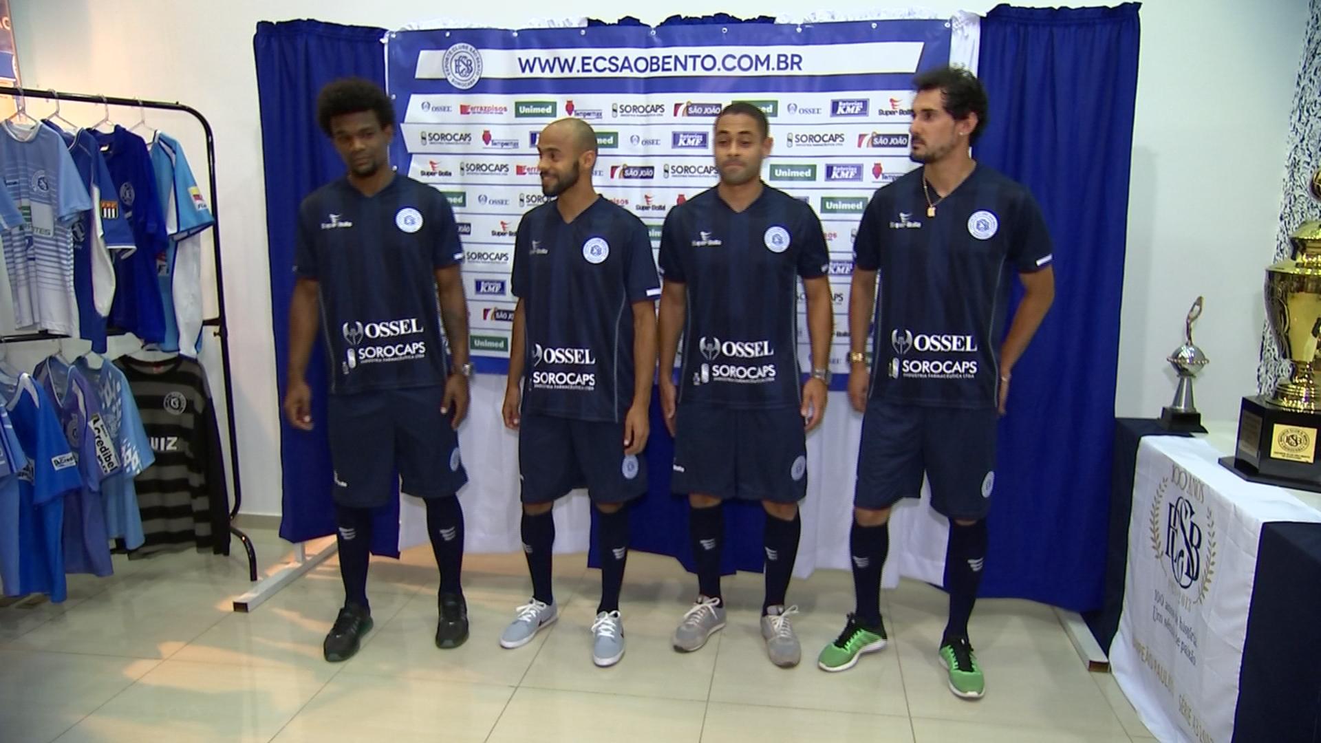 São Bento apresenta nova terceira camisa com mistura de tons de azul f814c2a7ce4c0
