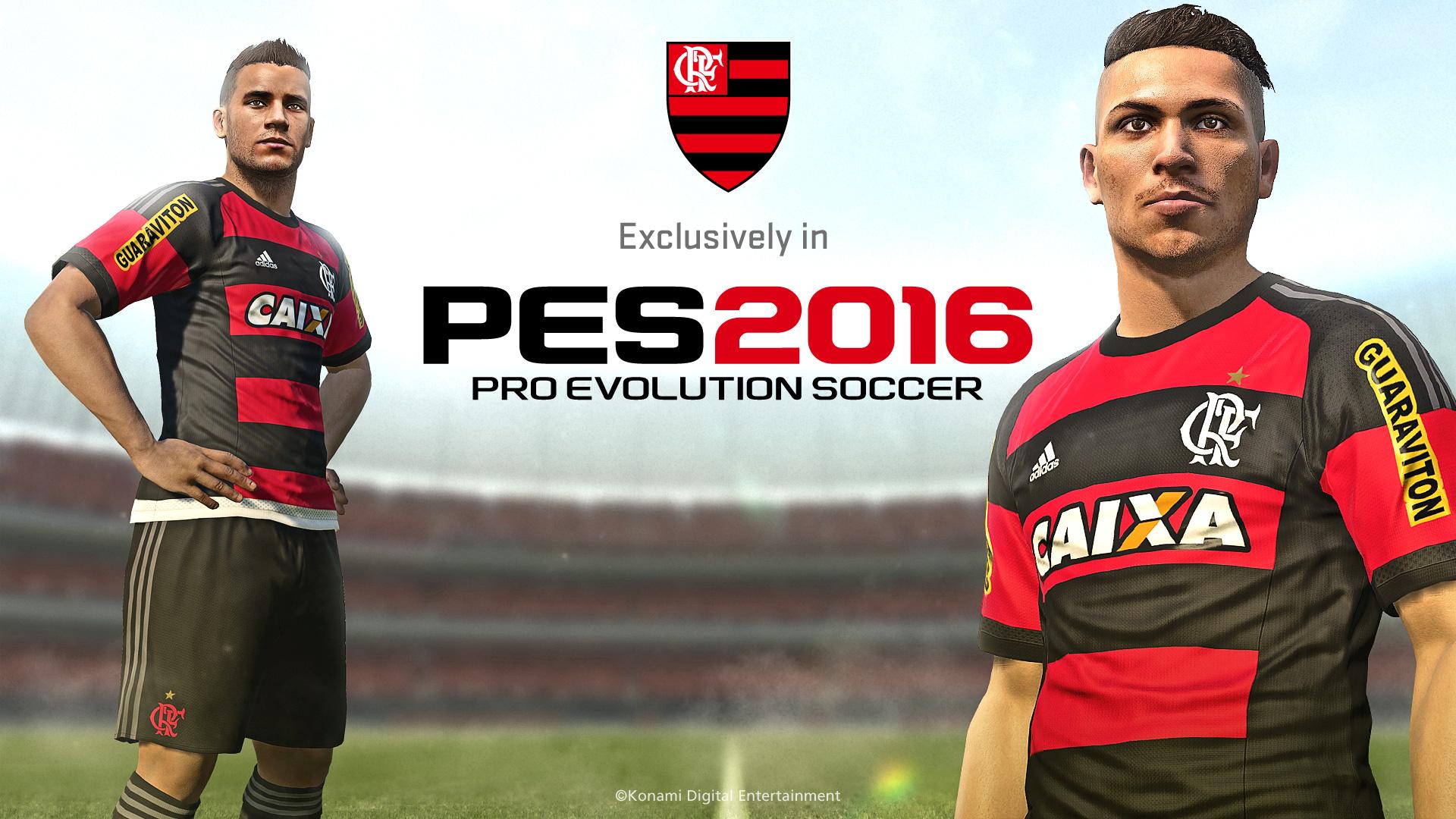 Flamengo anuncia parceria com PES e Maracanã e terá capa exclusiva 9322c7cb64f8d