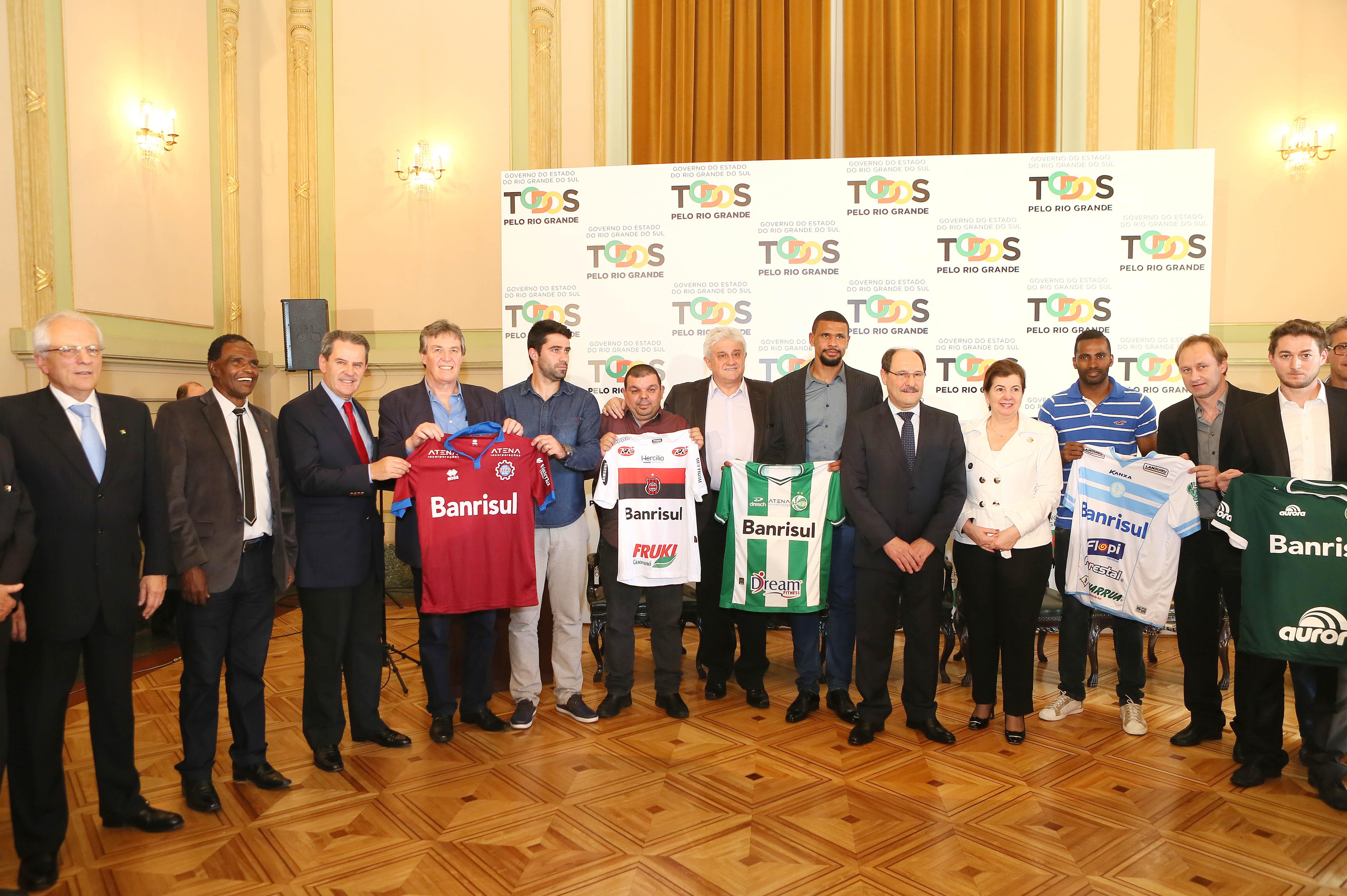 fa41129fcb Governo do RS anuncia patrocínio de R  300 mil a clubes das Séries C e D