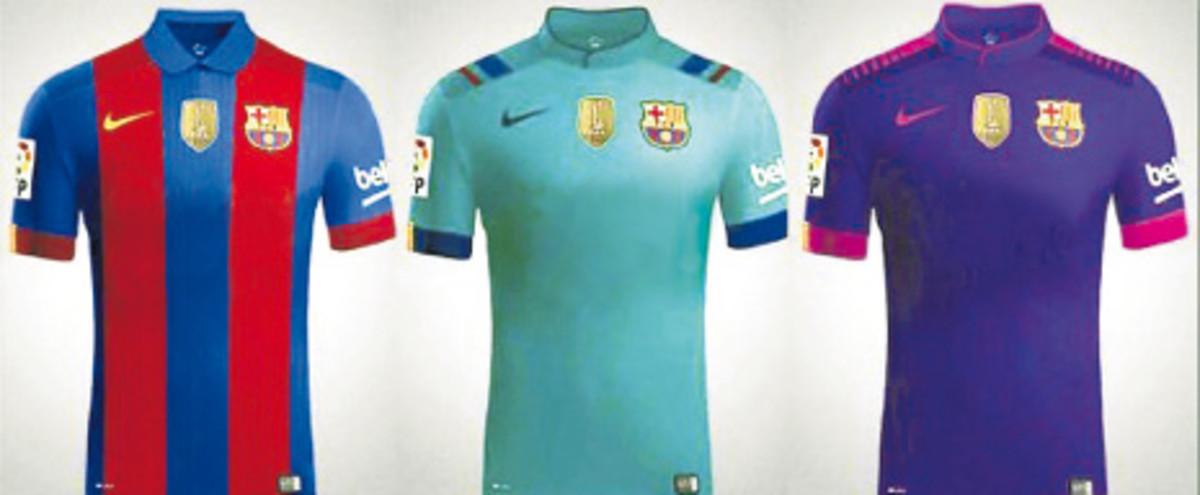7a499a6a879a4 Primeira leva de nova camisa do Barça não deve ter marca de patrocinador