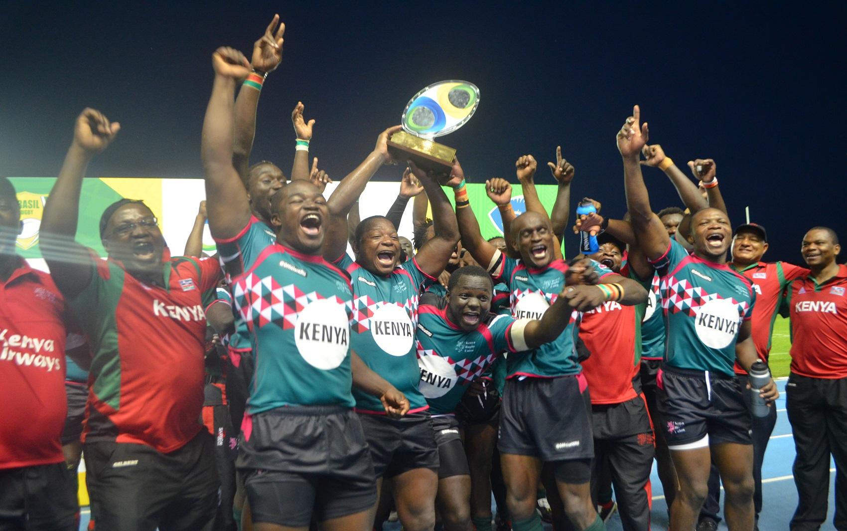 Quênia vence o Brasil e é campeã da Taça dos Hemisférios de Rugby no AP ced18a7c97d52