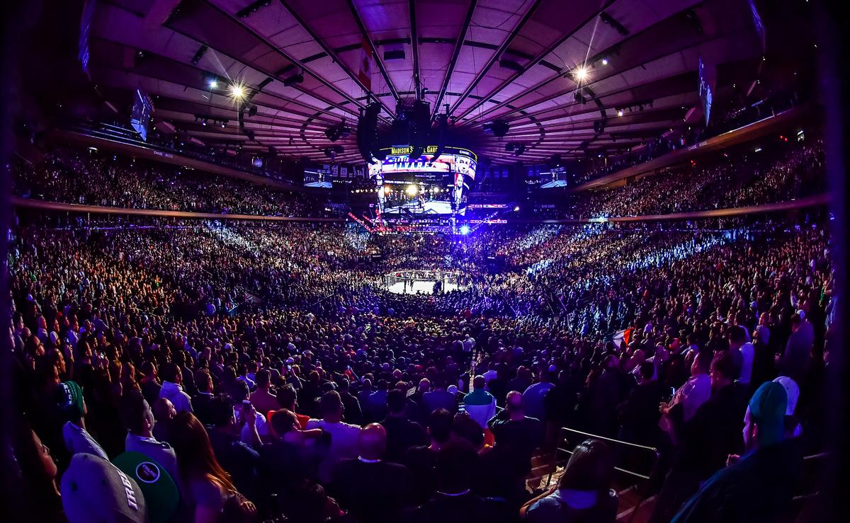 The Madison Club >> UFC 205: mostra de força do Ultimate teve festa irlandesa e início de tumulto