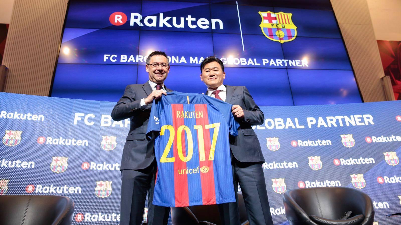 Barcelona anuncia novo patrocinador 3031b20605ba3