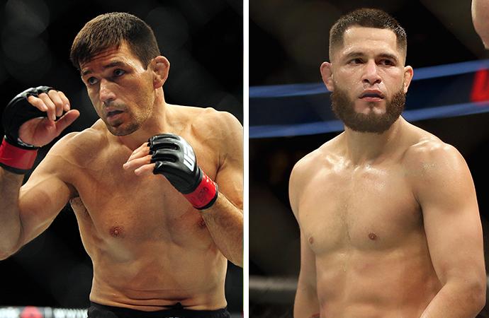 UFC planeja Demian x Masvidal para ser a luta principal do UFC Nashville