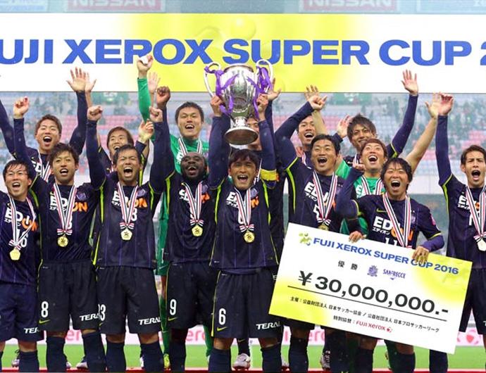 BLOG: Temporada 2016 começa com título do Sanfrecce Hiroshima na Supercopa