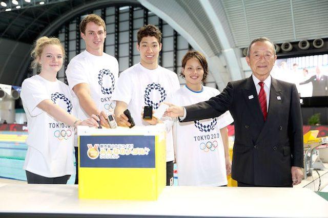 BLOG: Atletas engajados na campanha Tóquio 2020 de medalhas recicladas