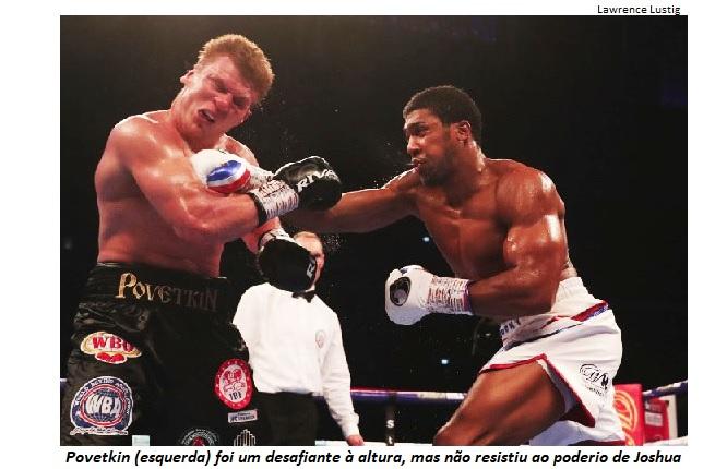 BLOG: Joshua vence Povetkin que fez mais do que se esperava dele