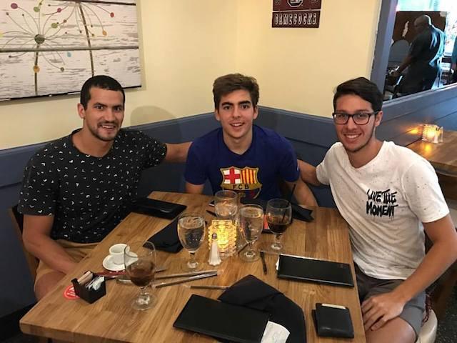 BLOG: Oussama Mellouli é o novo companheiro de treino de Brandonn Almeida