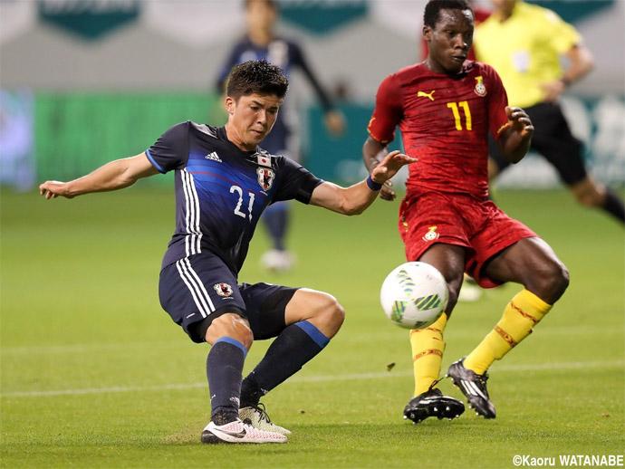 BLOG: Japão Sub-23 vence Gana em amistoso beneficente antes de Torneio de Toulon