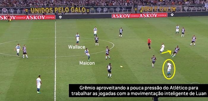 BLOG: O preço do atraso no show de desorganização do Galo contra o Grêmio