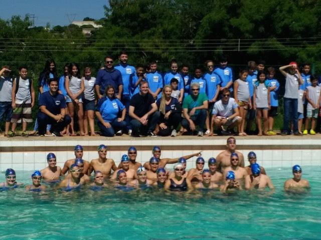 BLOG: Parabéns Maringá! Novo pólo do Projeto Nadando na Frente lançado hoje