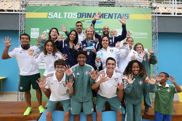 BLOG: Flu é deca campeão brasileiro de saltos ornamentais
