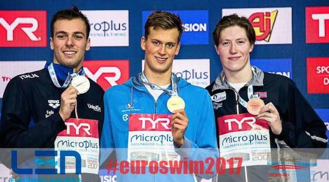 BLOG: Paltrinieri perde invencibilidade de 4 anos nos 1500 metros nado livre