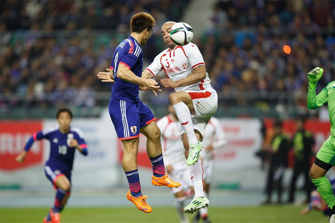 BLOG: Okazaki e Honda marcam e Japão vence Tunísia na estreia de Halilhodzic