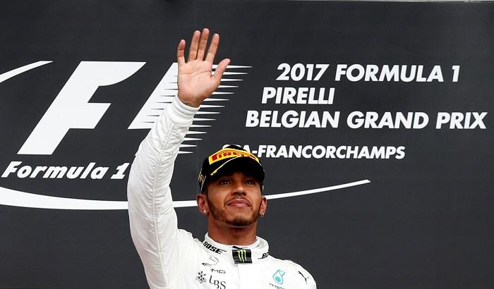 BLOG: Hamilton vence em dia de gala em Spa