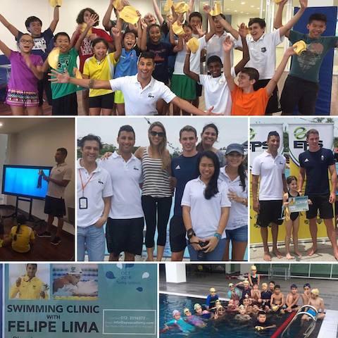 BLOG: Felipe Lima e Ben Proud dão clínica de natação na Malásia