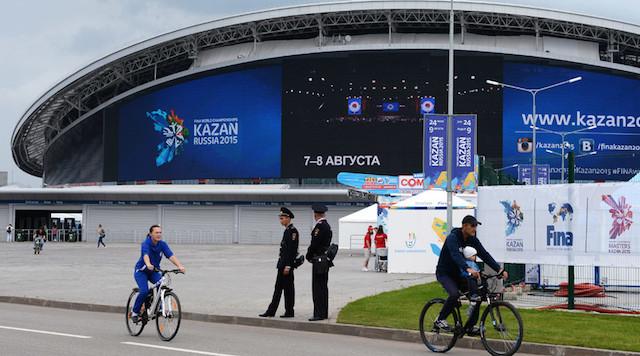 BLOG: Kazan Arena em 2015, Kazan Arena neste mês