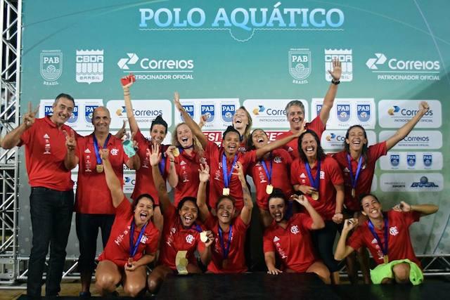 BLOG: Flamengo no feminino, SESI-SP no masculino, os campeões da Liga de Polo Aquático 2017