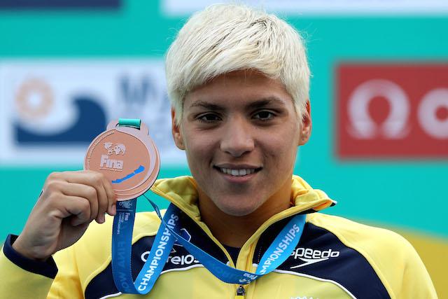 BLOG: Ana Marcela Cunha, a maior atleta olímpica feminina do Brasil em medalhas de Mundiais