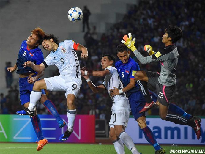 BLOG: Japão sofre para fazer 2x0 em Camboja, lanterna do grupo nas Eliminatórias