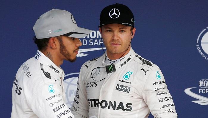 BLOG: Rosberg voa, Hamilton sente