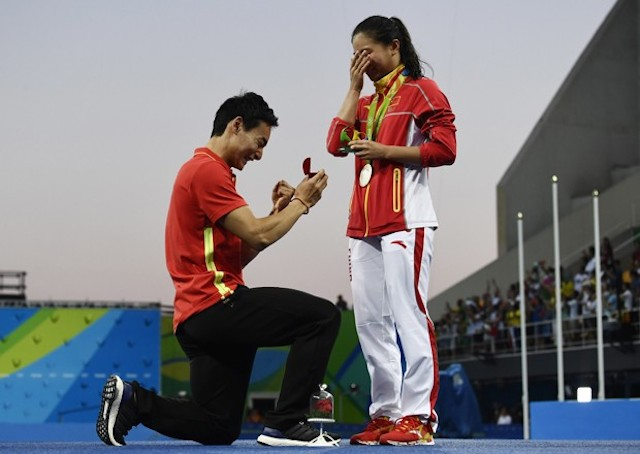 BLOG: O casamento olímpico finalmente saiu...