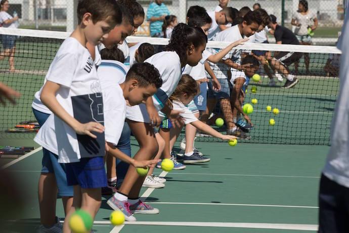 """BLOG: FTERJ movimenta Centro Olímpico de Tênis com """"aulão"""" e torneio de cadeirantes"""