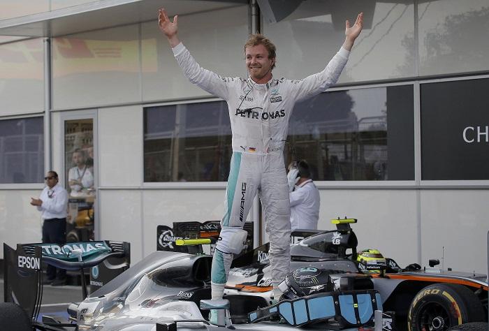 BLOG: Rosberg, vitória e alívio no Mundial