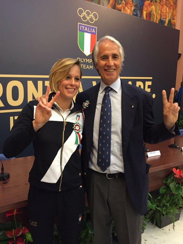 BLOG: Federica Pellegrini será porta-bandeira da Itália no Rio 2016