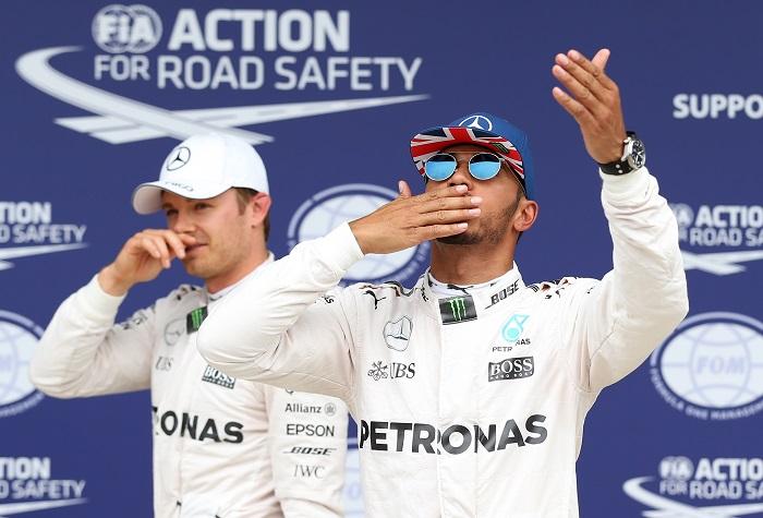 BLOG: Hamilton, pole à Senna