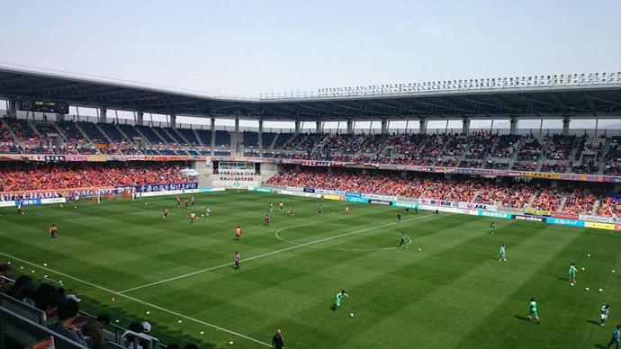 BLOG: Gol de bicicleta inaugura estádio do Nagano Parceiro na Terceira Divisão