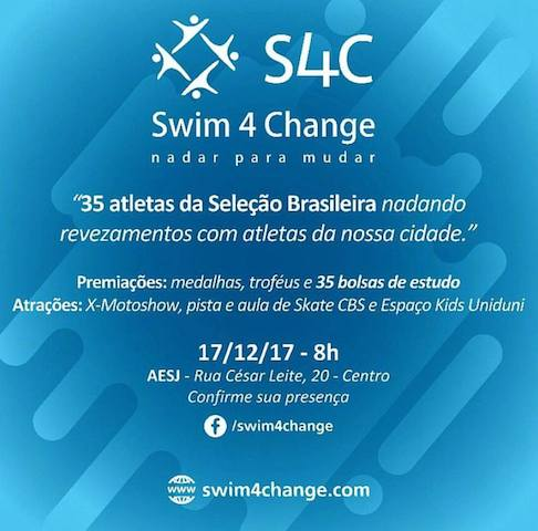BLOG: Swim4Change é domingo!