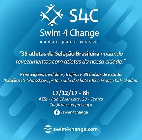 BLOG: Swim4Change é domingo!
