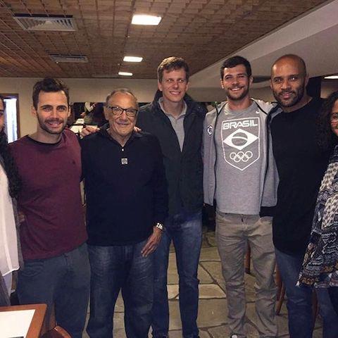 BLOG: Atletas da Seleção Brasileira declaram apoio a chapa de Miguel Cagnoni