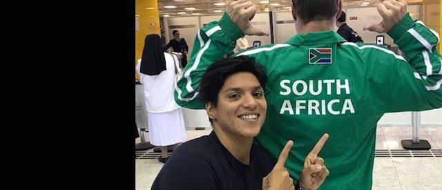BLOG: Fernando Possenti e Ana Marcela agora chamam África do Sul de casa