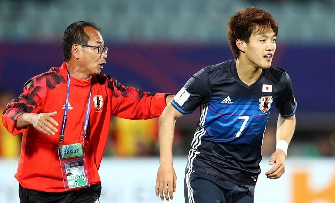 BLOG: Doan tem atuação de craque, Japão reage contra Itália e avança no Mundial Sub-20