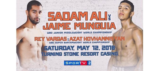 BLOG: Sadam Ali e Jaime Munguia encerram o sábado de boxe