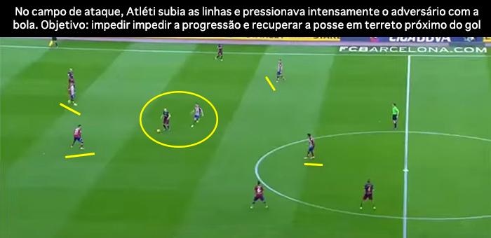 BLOG: Barça mata o jogo, mas Atléti é fiel ao plano: diminuir espaços e acelerar a transição ofensiva