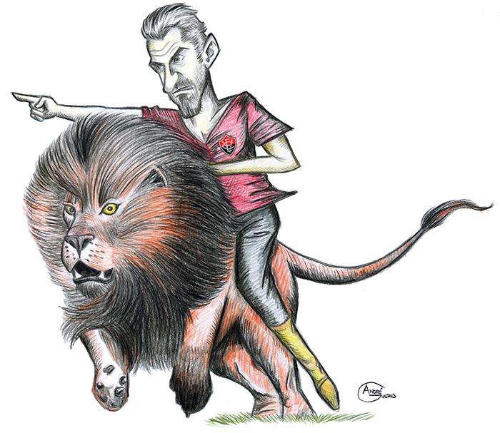 BLOG: Charge! Mancini, o leão do Vitória