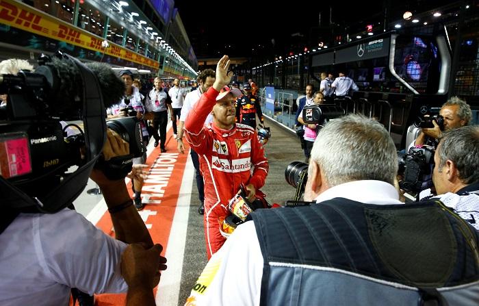 BLOG: Vettel, uma pole na base do braço