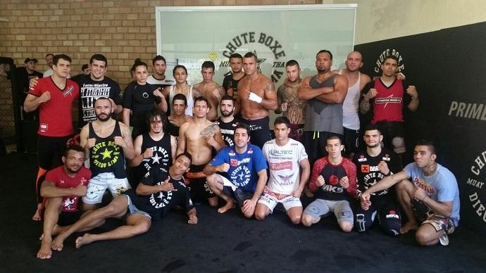 BLOG: Vitor Belfort, Glover e mais lutadores do UFC treinam juntos em São Paulo