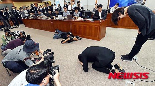 BLOG: De joelhos, Tae Hwan Park pede perdão por Rio 2016