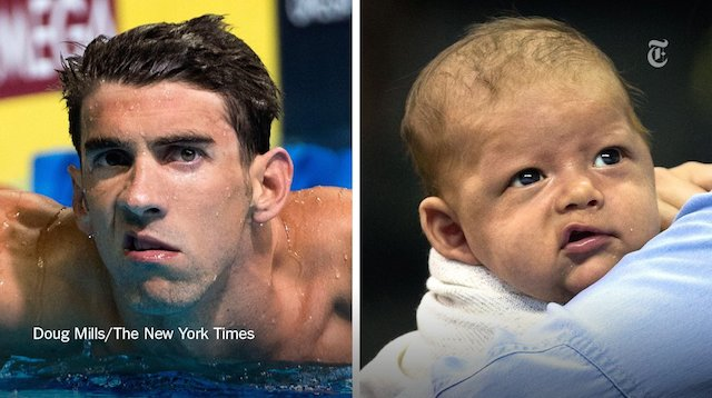 BLOG: Nem Phelps, nem o filho dele gostaram do tempo dos 200 borboleta