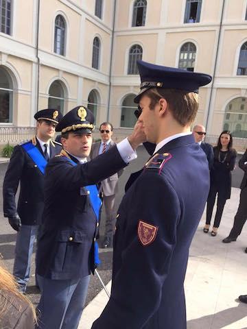 BLOG: Salve o novo oficial da Polícia Italiana